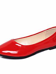 cheap -Women's Flats Flat Heel PU(Polyurethane) / Synthetics Fall / Spring & Summer Black / White / Purple