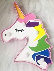cheap -Unicorn Decoration Light LED Night Light Indoor Night Light For Children Creative Decoration AA Batteries Powered 1pc