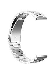 abordables -18/20/22/23 / 24mm bande de montre pour bracelet de poignet en acier inoxydable de conception de bijoux de galaxie de samsung galaxy / ticwatch pro / ticwatch