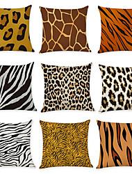 cheap -Set of 9 Linen Pillow Cover, Geometic Animal Modern Boho Throw Pillow