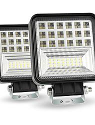 Недорогие -400 Вт 6000 К 4 дюймов светодиодный рабочий свет бар прожектор луч внедорожного 4wd внедорожник вождения противотуманная фара package2pcs