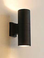 cheap -Waterproof Simple / Modern Contemporary Outdoor Wall Lights Outdoor / Garden Aluminum Wall Light
