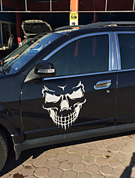 cheap -Unique Skull Design PVC Decals Car Cover Stickers Car Body Styling Sticker