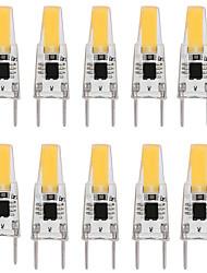 cheap -10pcs 3 W LED Bi-pin Lights 300 lm G8 T 1 LED Beads COB Dimmable Warm White White 110-120 V