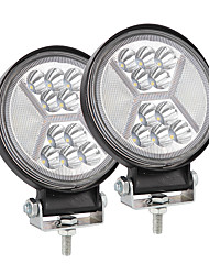cheap -4inch 117W Round Shape Car LED Working Light Modified Truck Headlights Off-road Lights Package2PCS