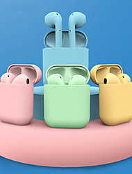 cheap -LITBest Inpods12 Macaron TWS True Wireless Headphone Wireless Earbud Bluetooth 5.0 Stereo