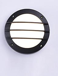 cheap -LED Waterproof Wall Light Mini Wall Sconce for Bathroom Balcony Aluminum Balck Wall Lighting
