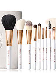 cheap -Professional Makeup Brushes 10pcs Cute Soft New Design Comfy Bamboo for Makeup Brush