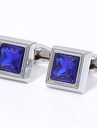 cheap -Cufflinks Classic Fashion Brooch Jewelry Silver For Wedding Gift