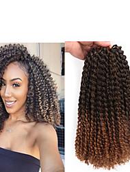 """cheap -Braiding Hair Curly Twist Braids Afro Kinky Braids Curly Braids Synthetic Hair 3 Pieces Hair Braids Natural Color 12"""" Synthetic Crochet Braids Jamaican Bounce Hair Christmas African Braids"""