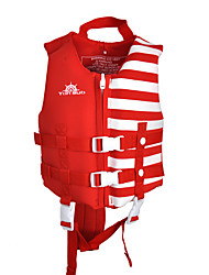 cheap -YON SUB Life Jacket Softness Nylon Neoprene Swimming Water Sports Rafting Life Jacket for Kids