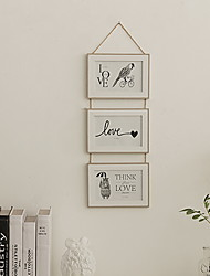 cheap -Modern Contemporary Wood Painted Finishes Picture Frames Wall Decorations, 1pc Picture Frames