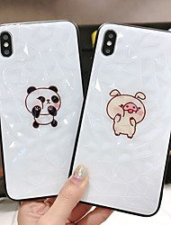 cheap -Case For Apple iPhone XS / iPhone XR / iPhone XS Max Dustproof / Pattern Back Cover Animal / Cartoon PC