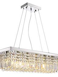cheap -8-Light Pendant Light Downlight Electroplated Metal Crystal, LED 110-120V / 220-240V Warm White / Cold White Bulb Not Included / E12 / E14
