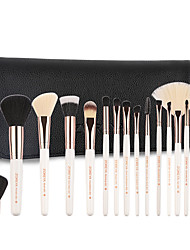 cheap -Professional Makeup Brushes 15pcs Professional Soft Cool Comfy Wooden / Bamboo for Makeup Brush