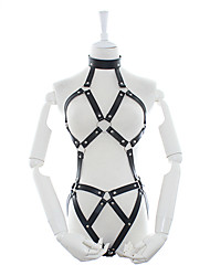 cheap -Women's Movie / TV Theme Costumes Adults' Sexy Chest Harness / leatherette