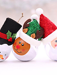 cheap -Christmas Lights / Decoration Light / Christmas Ornaments Holiday / Family Plastic Cartoon / Party / Novelty Christmas Decoration
