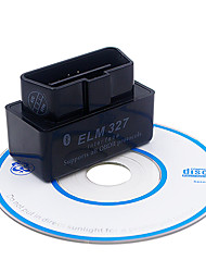 cheap -Super Mini ELM327 Bluetooth Interface V2.1 OBD2 II Auto Diagnostic Tool ELM327 Works ON Android Torque/PC