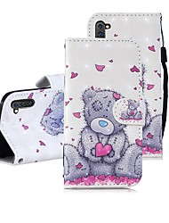 cheap -Case For Samsung Galaxy Note 9 / Note 8 / Galaxy Note 10 Wallet / Card Holder / Shockproof Full Body Cases Panda PU Leather