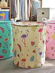 cheap -Laundry Basket Oxford Cloth Ordinary Accessory 1 Storage Barrel Household Storage Bags
