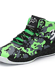 cheap -Boys' Comfort PU Athletic Shoes Big Kids(7years +) Basketball Shoes Red / Green / Blue Fall / Camouflage / Rubber