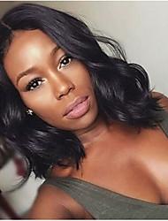 cheap -Synthetic Wig Body Wave Bob Wig Medium Length Black#1B Synthetic Hair 12 inch Women's Women Synthetic Fashion Black / For Black Women