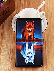 cheap -Case For Apple iPhone XR / iPhone XS Max Wallet / Card Holder / with Stand Full Body Cases Fox PU Leather for iPhone 6s / 6s Plus / 7 / 7 Plus / 8 / 8 Plus / X / Xs