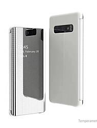 cheap -Vivo for Vivo V15PRO/V15/Y17/Y85/Y93/Y97/X23/y79/y71 New Smart Window Second Generation Mesh Mirror All-inclusive Anti-Fall Phone Case