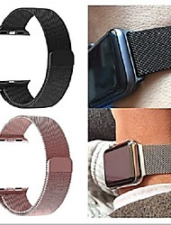 cheap -Milanese Loop band For Apple Watch Strap iWatch 5/4/3/2/1 38mm 40mm 42mm 44mm