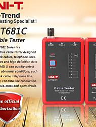 abordables -Uni-t ut681c testeur de câble réseau / ligne téléphonique testeur double led affichage de l'état manuel / arrêt automatique