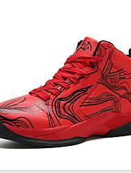 abordables -Garçon Confort Polyuréthane Chaussures d'Athlétisme Grands enfants (7 ans et +) Basketball Violet / Rouge / Bleu Eté