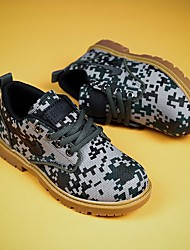 cheap -Boys' Comfort Canvas Oxfords Little Kids(4-7ys) Green / Brown Summer / Camouflage