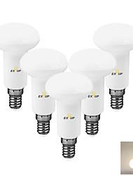 Недорогие -EXUP® 5 шт. 9 W Точечное LED освещение Круглые LED лампы 630 lm E14 R80 12 Светодиодные бусины SMD 2835 Декоративная Тёплый белый Холодный белый 220-240 V