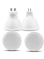 cheap -4pcs 7 W LED Spotlight 700 lm GU10 MR16 MR16 24 LED Beads SMD 2835 Warm White White 220-240 V
