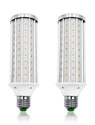 cheap -LOENDE 2 Pack 40W LED Corn Lights 4000 lm E26 / E27 T 140 LED Beads SMD 5730 Warm White White 85-265 V