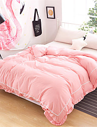 cheap -Duvet Cover Solid Colored Poly / Cotton Yarn Dyed 1 PieceBedding Sets