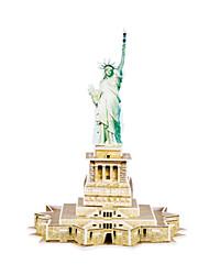 Недорогие -3D пазлы Пейзаж Статуя Свободы кафедральный собор 3D в мультяшном стиле 1 pcs Дети Все Игрушки Подарок
