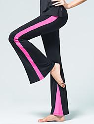 cheap -Latin Dance Bottoms Women's Training Polyester Split Joint Natural Pants