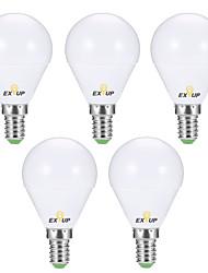 Недорогие -EXUP® 6шт 6 W Круглые LED лампы 540 lm E14 P45 12 Светодиодные бусины SMD 2835 Творчество Для вечеринок Декоративная Тёплый белый Холодный белый 220-240 V 110-130 V