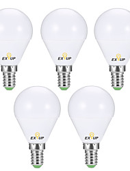 cheap -6pcs 6 W LED Globe Bulbs 540 lm E14 P45 12 LED Beads SMD 2835 Creative Party Decorative Warm White Cold White 220-240 V 110-130 V