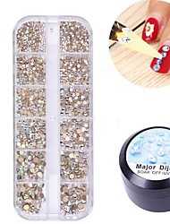 cheap -Acrylic powder Shiny Glitter Nail Art Decoration Acrylic Nail Kit