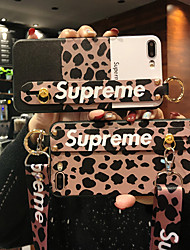cheap -Case For Apple iPhone XS / iPhone XR / iPhone XS Max Dustproof / with Stand / Pattern Back Cover Tile TPU