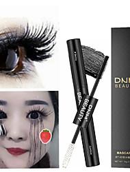 cheap -2 in 1 Mascara Waterproof Lengthens Eye Lash Black White Rimel 4d Curling Maskara Volume 4D Silk Fiber Eyelash Mascara