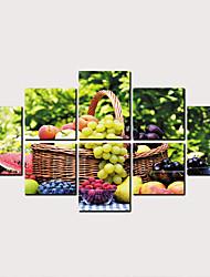 Недорогие -С картинкой Роликовые холсты - Продукты питания Классика Modern Репродукции