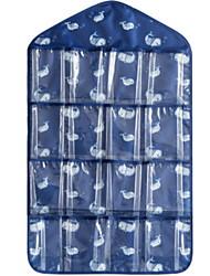 cheap -Fabrics Rectangle Geometric Pattern Home Organization, 1pc Storage Bags