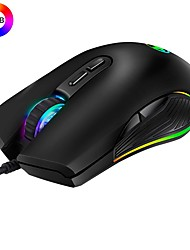 cheap -MODAO W1909 Professional Ergonomic USB Wired RGB Gaming Mouse 3200DPI with 4 Backlights Mode