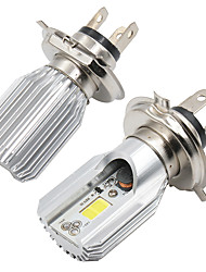cheap -1pcs H4 / BA20D Motorcycle Light Bulbs COB LED Fog Lights / Headlamps For Motorcycles All years