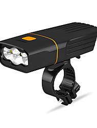 Недорогие -Светодиодная лампа Велосипедные фары Передняя фара для велосипеда LED Горные велосипеды Велоспорт Велоспорт Водонепроницаемый Несколько режимов Супер яркий Безопасность Литий-ионная 2400 lm