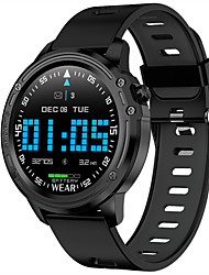 cheap -Smartwatch Digital Modern Style Sporty Silicone 30 m Water Resistant / Waterproof Heart Rate Monitor Bluetooth Digital Casual Outdoor - Black Black / Green Black / Red