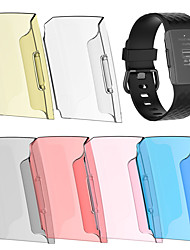 cheap -Smart Watch Bracelet Protective Cover 6 Colors Screen Protector Full Body Case Transparent Hard PC Shell For Fitbit Charge 3 1PC